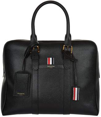 Thom Browne Small Leather Holdall
