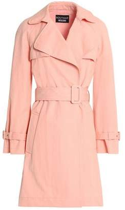 Moschino Cotton-Blend Twill Trench Coat
