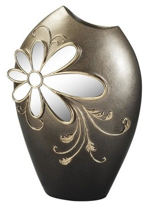 OK Lighting FLORAL GLAMOUR DECORATIVE VASE