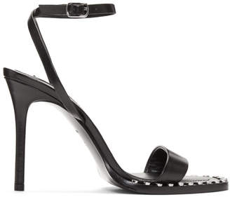 Alexander Wang Black Cate Sandals