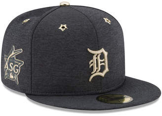 New Era Boys' Detroit Tigers 2017 All Star Game Patch 59FIFTY Fitted Cap