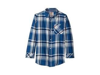 Levi's Kids Long Sleeve Woven Shirt (Little Kids)