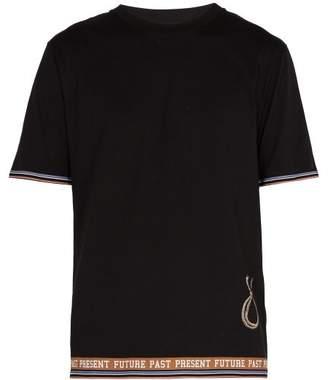 Loewe Ppf Lamp Printed Cotton T Shirt - Mens - Black