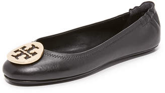 Tory Burch Minnie Travel Ballet Flats $225 thestylecure.com