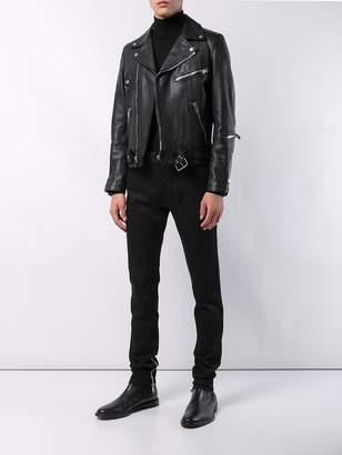 Balmain Zipper detail jeans