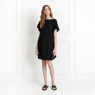 Rachel Zoe Serafina Textured Cotton Mini Dress