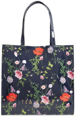 Ted Baker Primcon Hedgerow Print Large Icon Tote