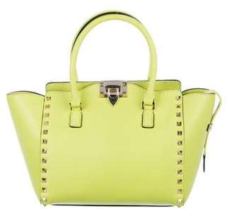 Valentino Rockstud Small Double Handle Tote
