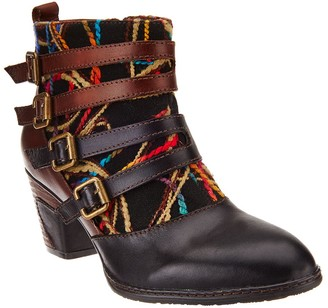 Spring Step L'Artiste Leather Ankle Boots - Redding
