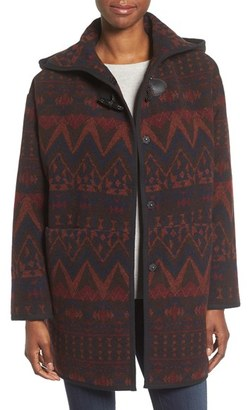 Women's Kensie Teddy Duffle Coat $148 thestylecure.com