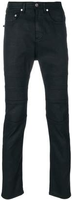 Neil Barrett ribbed panelled jeans