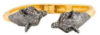 Alexis Bittar Elements Fox Head Bracelet