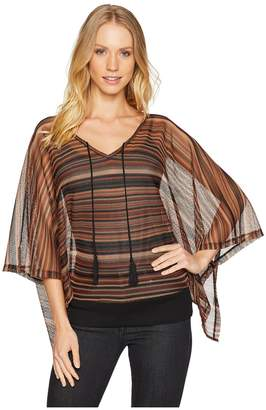 Sanctuary Island Poncho Top Women's Clothing