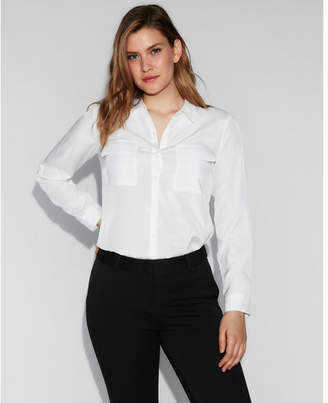 Express solid city shirt by
