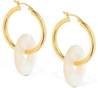 Big Glazed Hoops Earrings