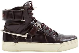 Gucci Leather high trainers