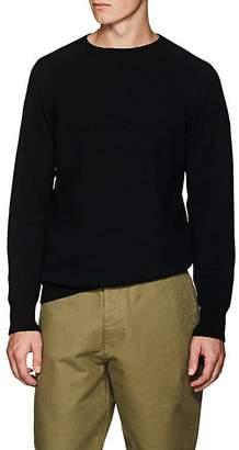 Margaret Howell Men's Wool-Cashmere Saddle-Shoulder Sweater
