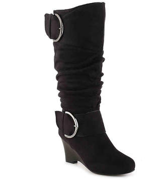 Journee Collection Irene-1 Wide Calf Wedge Boot - Women's