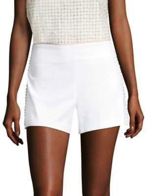 Alice + Olivia Sherri Embellished Shorts