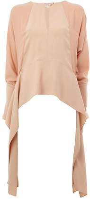 Lanvin draped side panel blouse