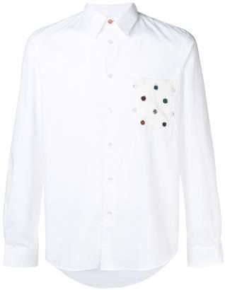 Paul Smith dots pocket shirt