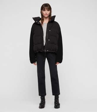 AllSaints Ines Knit Puffer Coat