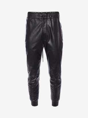 Alexander McQueen Lambskin Leather Pants