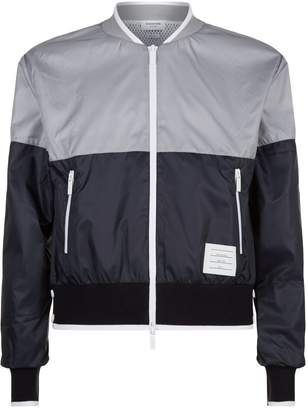 Thom Browne Colour Block Bomber Jacket
