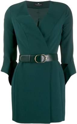 Elisabetta Franchi belted wrap dress