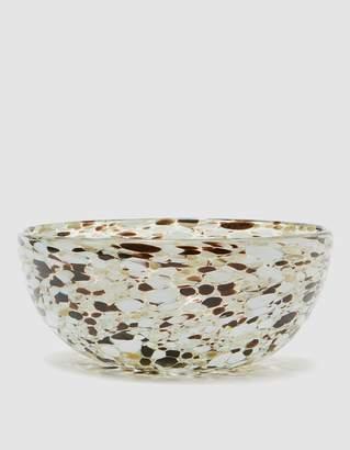 Confetti Glassware Serving Bowl in Espresso