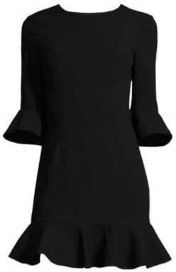 Black Halo Women's Flutter-Sleeve Dress - Bonfire - Size 6