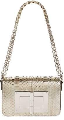 Tom Ford Large Python Natalia Shoulder Bag