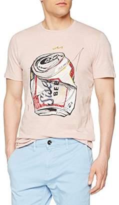Sisley Men's T-Shirt Regular Fit Short Sleeve T-Shirt