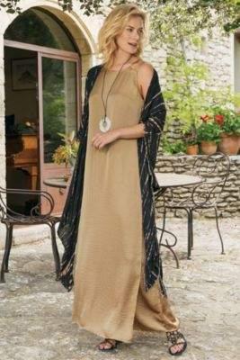 Soft Surroundings Marlene Maxi Dress