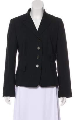 Akris Punto Structured Wool Blazer