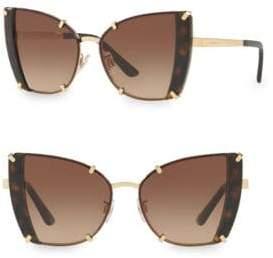 Dolce & Gabbana 53MM Cat Eye Tortoise Sunglasses