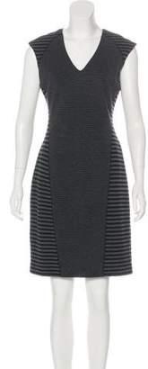 Ellen Tracy Striped Knee-Length Dress