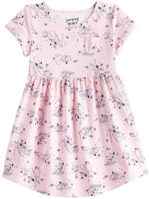 a2a327c13f5b0 Jb Disney Insertion Disney's Bambi Toddler Girl Graphic Skater Dress by  Jumping Beans