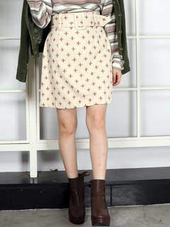 dazzlin (ダズリン) - 【sw】リトルフラワー刺繍ミニスカート