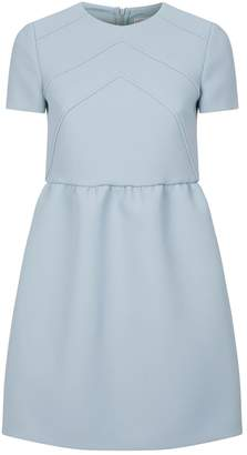 RED Valentino Crepe Textured Shift Dress