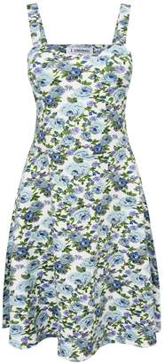 Toms Tom's Ware Womens Stylish Floral Print Adjustable Strap Skater Dress TWCWD111-S-CA