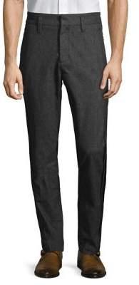 John Varvatos Cuffed Flat Iron Trousers