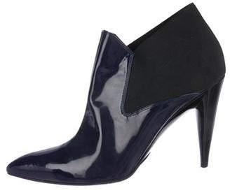 Ballin Classic Patent Leather Ankle Booties