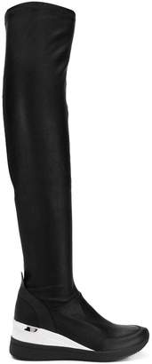 MICHAEL Michael Kors over-the-knee wedge boots