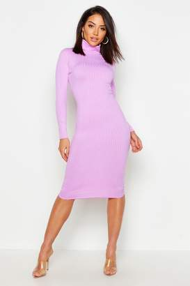 a1673df5db7c6 boohoo Purple Midi Dresses - ShopStyle UK