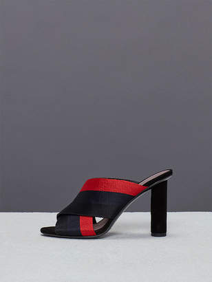 Diane von Furstenberg Cross Over Ribbon Heel