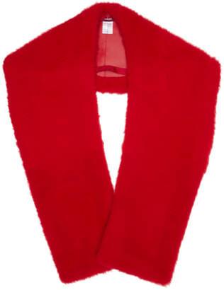 Sies Marjan Red Jordi Mongolian Shrug
