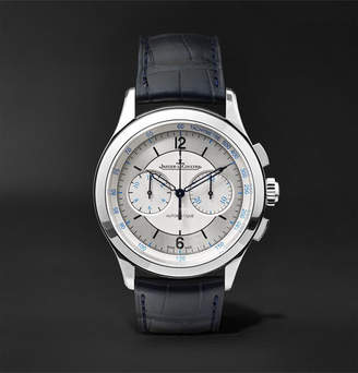 Jaeger-LeCoultre Master Chronograph 40mm Stainless Steel And Alligator Watch