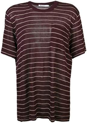 Alexander Wang striped crewneck T-shirt