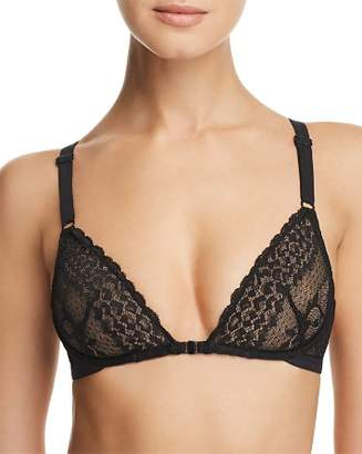 Heidi Klum Intimates Delilah Dances Sheer Lace Demi Underwire Bra